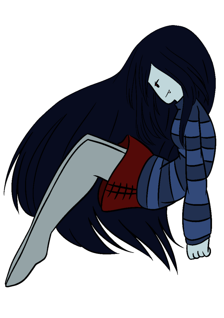 Mine drawing vampire. Marceline the queen by