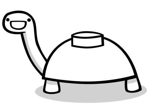 Mine turtle png. Collection of coloring