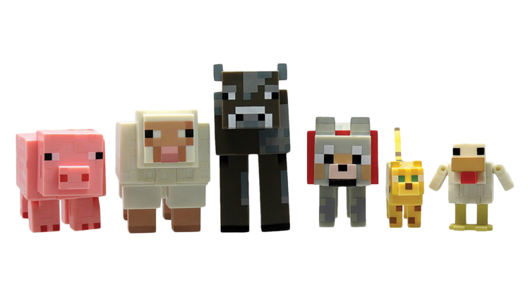 Minecraft animals png. Our top ten stocking