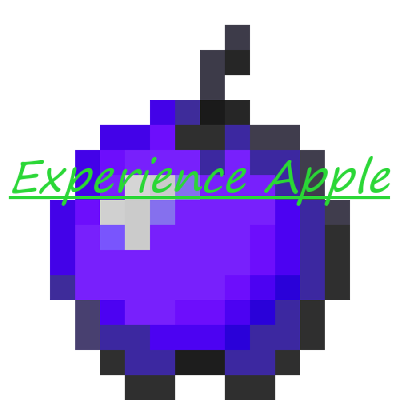 Minecraft apple png. Overview experience mods projects