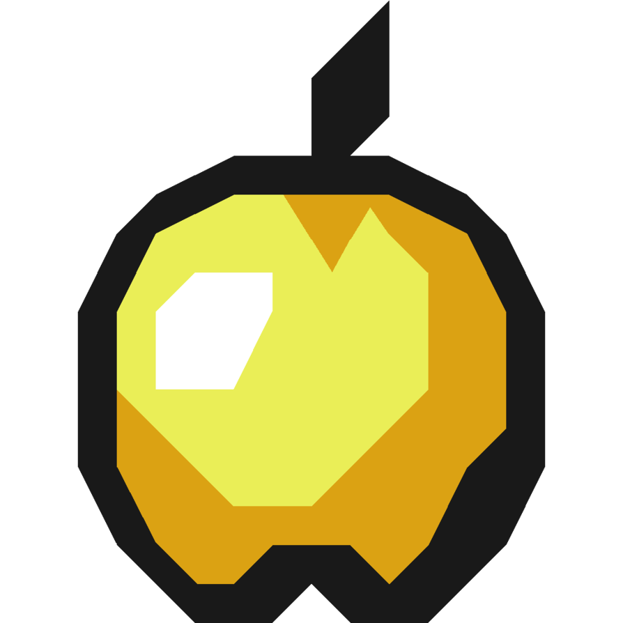 Minecraft golden apples png. X apple by