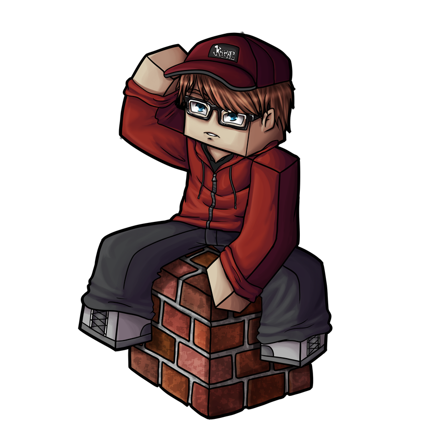 Minecraft avatar png. Kiingtong by goldsolace on