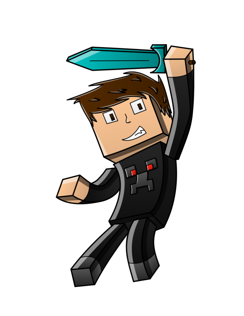 Minecraft avatar png. Teamminecroft by beaulieue on