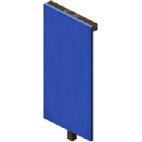 Minecraft banner png. Blue item id crafting