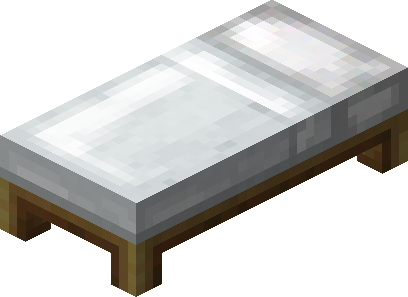 minecraft bed png