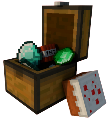 Crate png minecraft. Chest of loot by
