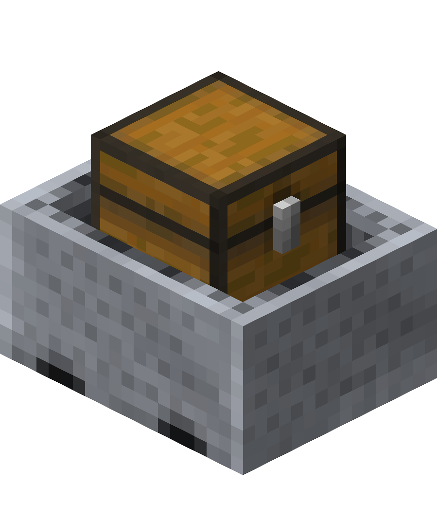 Minecraft chest png. Minecart with official wiki