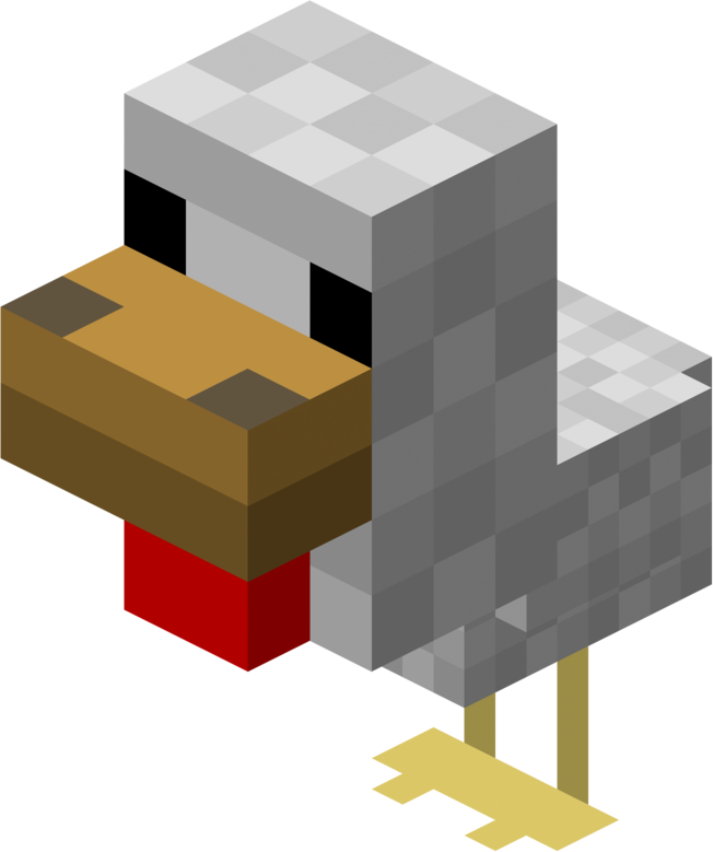 Llama minecraft png. File baby chicken official