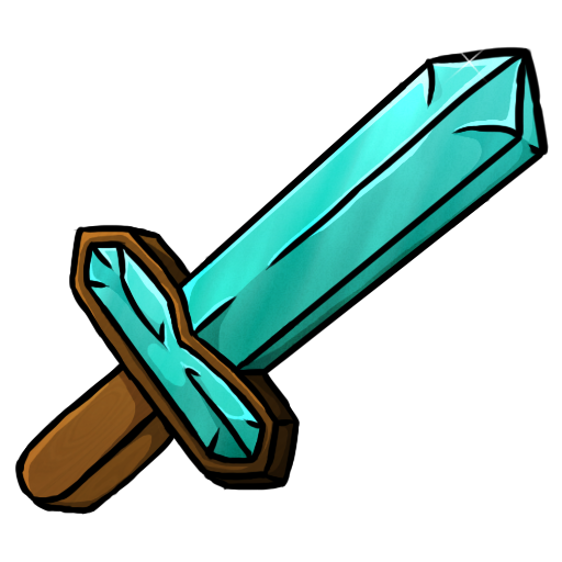 Minecraft clipart minecraft diamond sword. Icon png image iconbug
