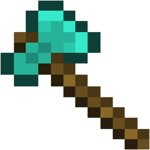 Minecraft clipart minecraft diamond sword. Free images at clker