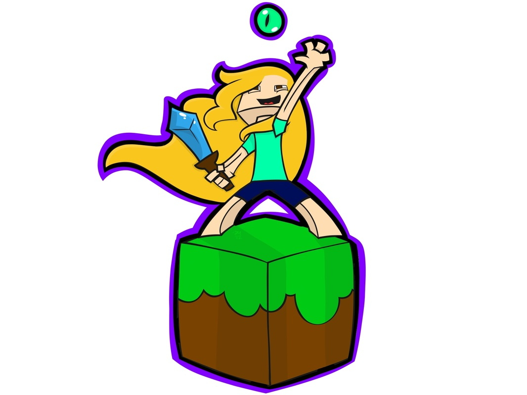 Minecraft clipart minecraft girl. Drawing at getdrawings com
