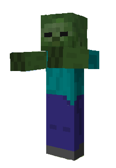 Minecraft clipart zombies. Zombie