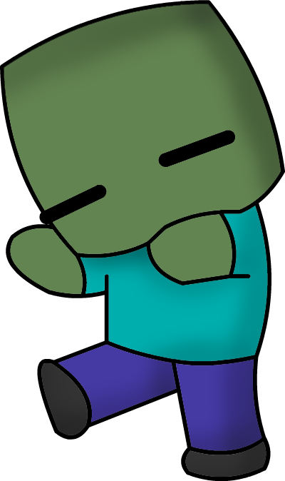 Zombie at getdrawings com. 49ers drawing minecraft clip library