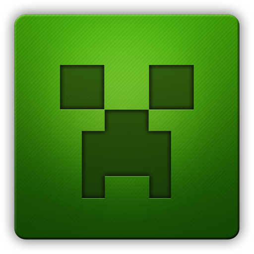 Minecraft creeper face png. Hd icon by ifoxx