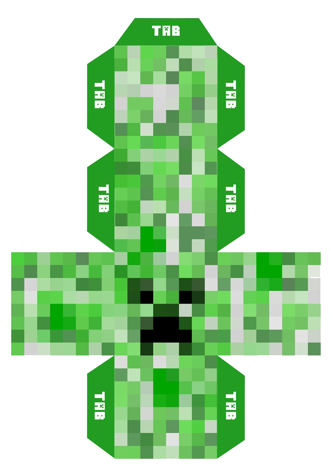 Minecraft creeper head png. Elf reminders gallery mask
