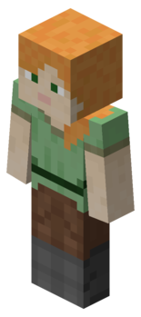Minecraft cube png. Player official wiki stevepng