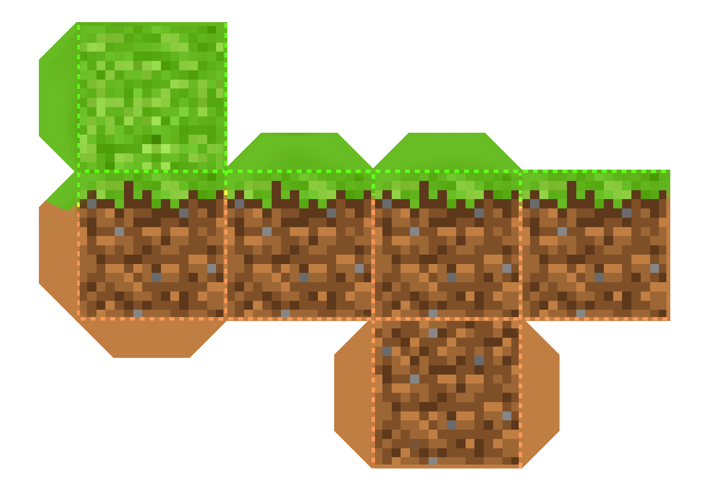 Minecraft cube png. Ultimate and inexpensive birthday