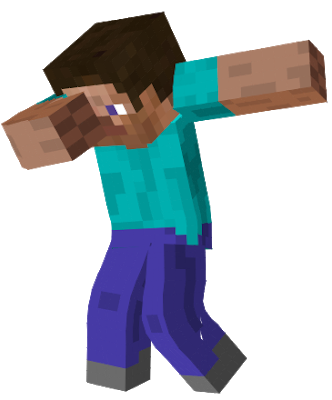 Minecraft Dab Transparent Png Clipart Free Download Ya Webdesign