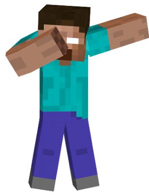 Minecraft dab png. Image herobriney object shows