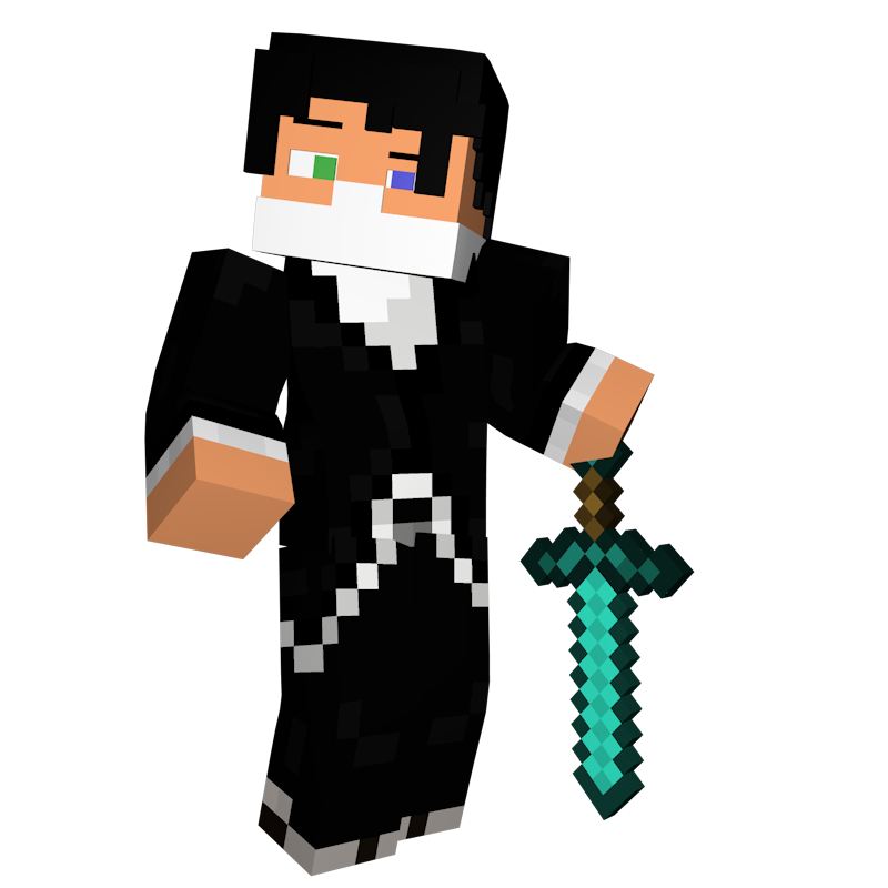 Minecraft diamond swords crossing png. Free d characters like