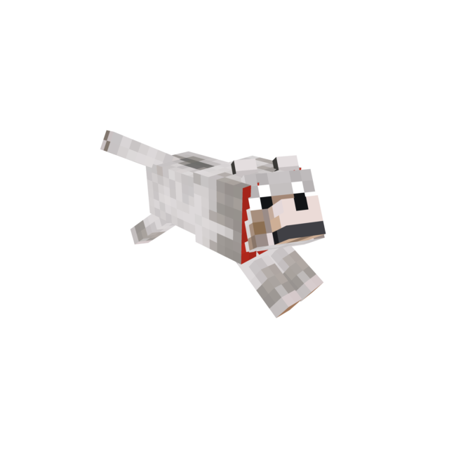Minecraft dog png. Attack a d skin