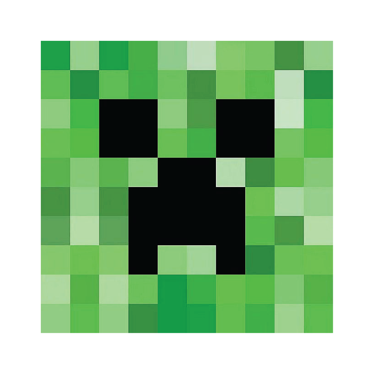 Minecraft creeper face png. Free homeschool resources printables