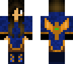 Minecraft girl skin png with slimmer arms. Slim skins brown haired