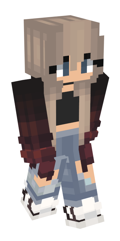 Minecraft png skins. Body girl pinterest bodypng