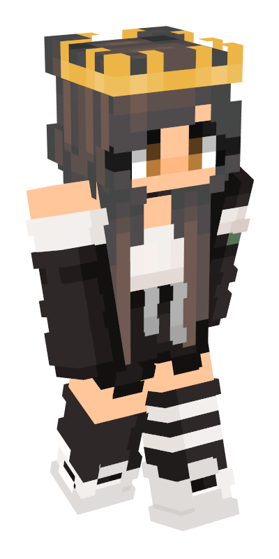 Minecraft girl skin png with slimmer arms. Body skins pinterest bodypng