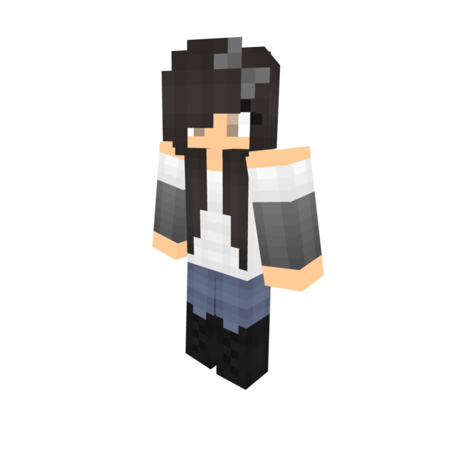 Minecraft girl skin png with slimmer arms. C bree vmhpng