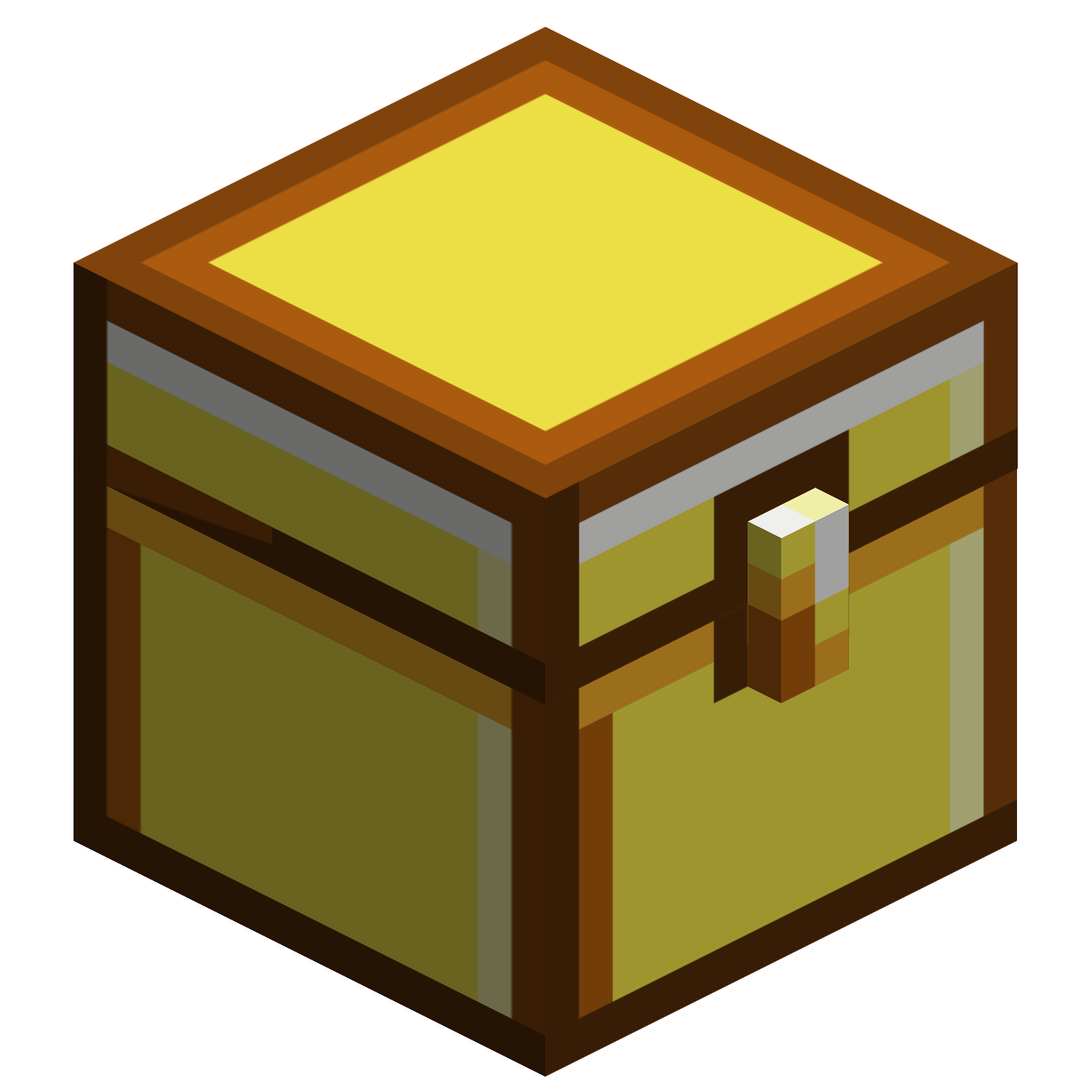 Minecraft gold png. Image chest m universe