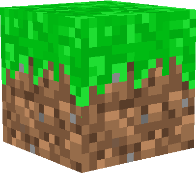 minecraft grass block png