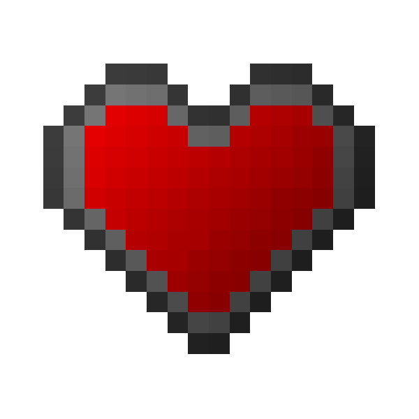 Minecraft heart png. Overview levelhearts mods projects