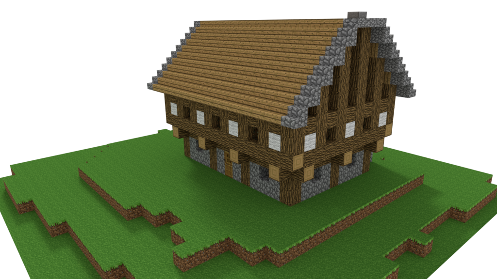 Minecraft house png. Old by tohmis on