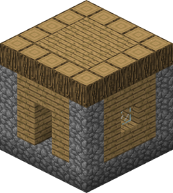 Minecraft house png. Village official wiki oakhousepng
