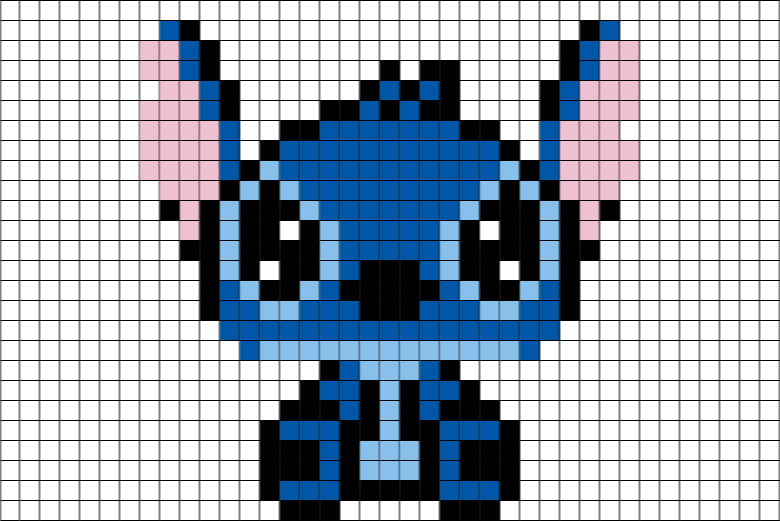Stitch disney pinterest brik. Minecraft llama pixel art png banner freeuse download