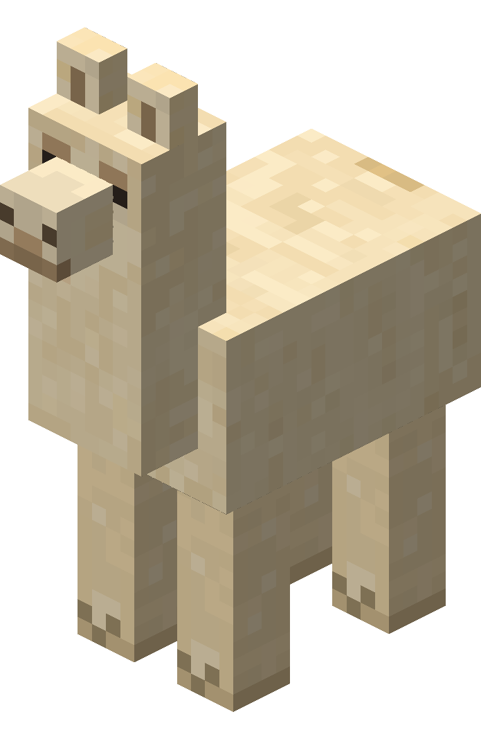 Minecraft llama png. Official wiki