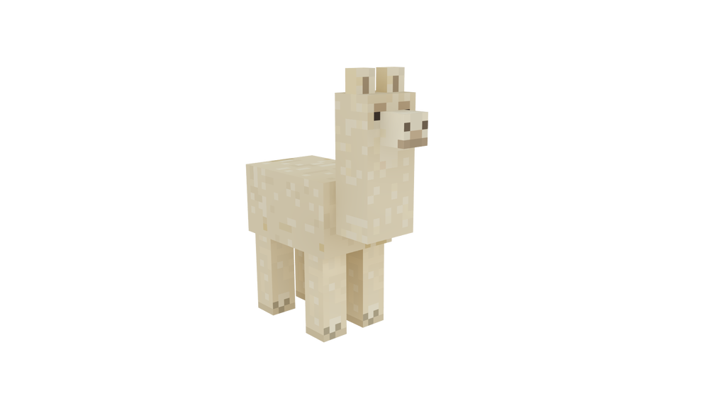 By atagene on deviantart. Minecraft llama png graphic download