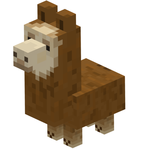 Minecraft llama png. Baby brown wiki