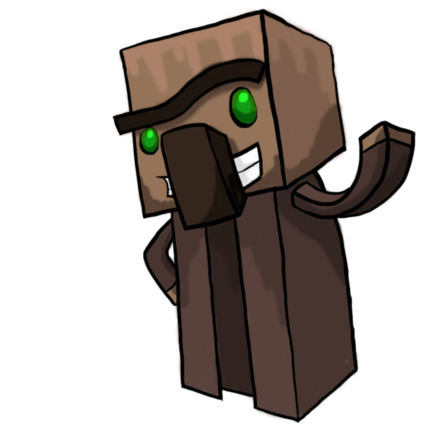 Villager by llamavideos on. Minecraft llama png graphic royalty free stock
