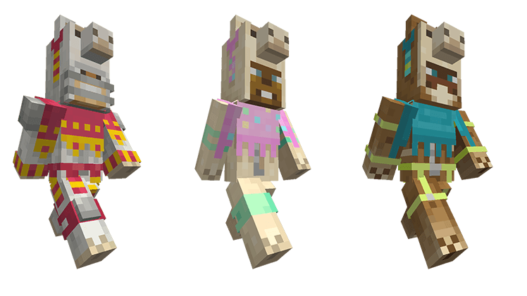 On consoles get mini. Minecraft llama png graphic freeuse stock