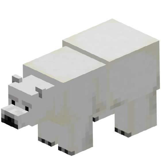 Polar bear wiki fandom. Minecraft llama png vector royalty free stock