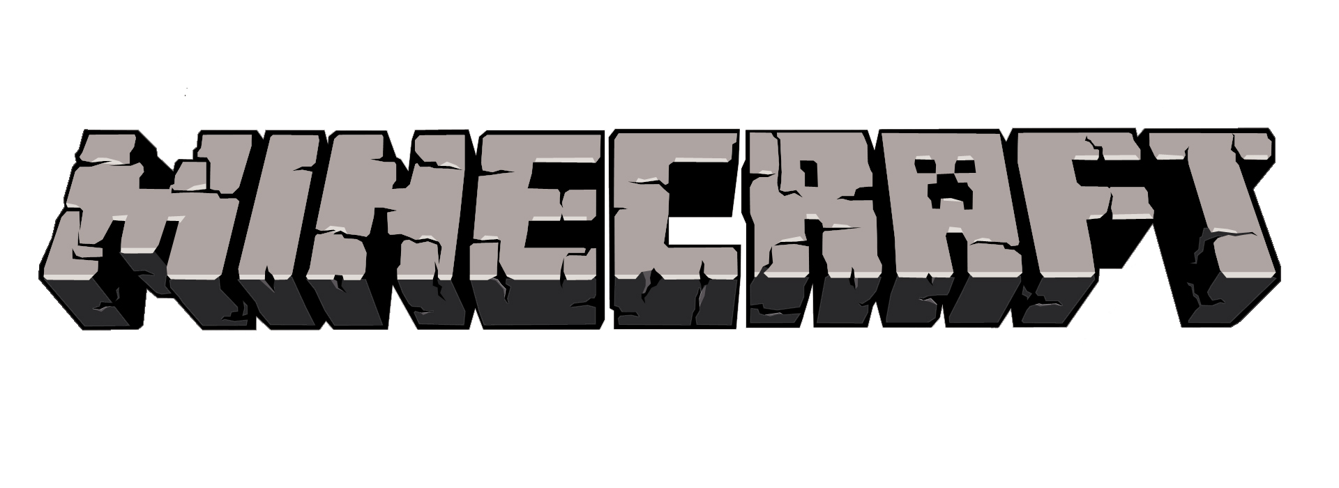 Minecraft text png. Image logo transparent background