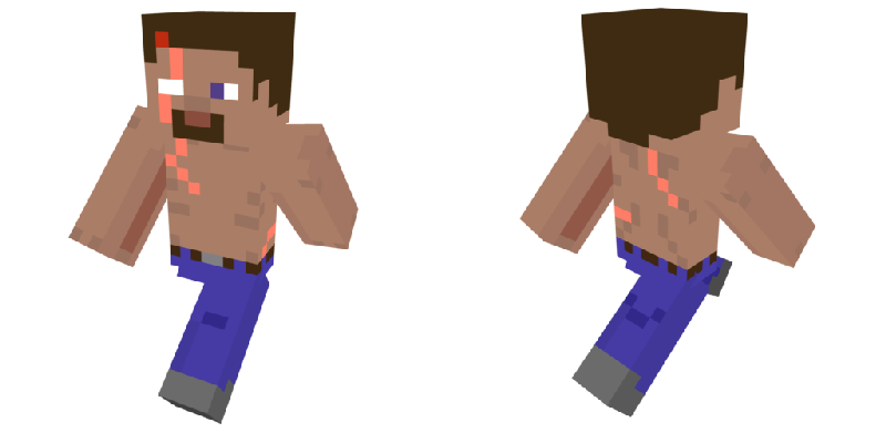 Minecraft net skin username png. Survivor steve by narrictechna
