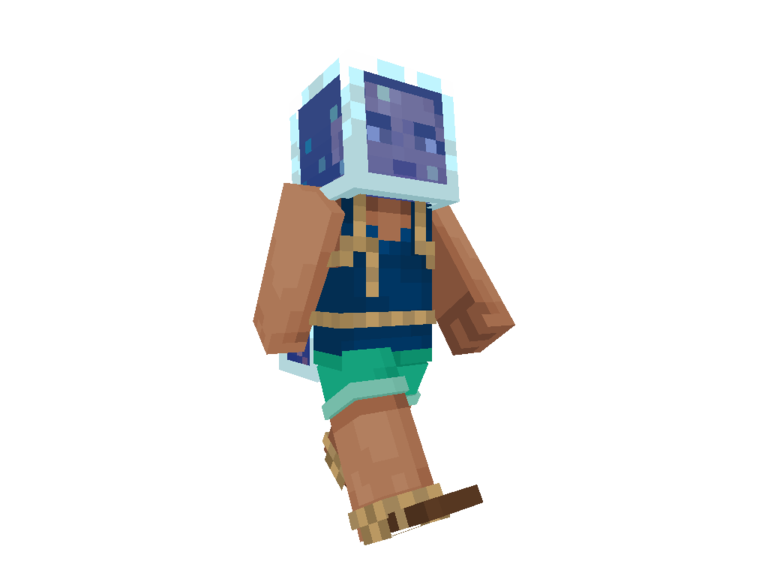 Minecraft net skin username png. New aquatic skins out