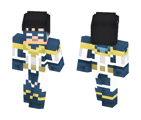 Minecraft nightwing skin png. Download teen titans collection