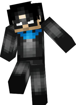 Minecraft nightwing skin png. Young justice fsshyywpng