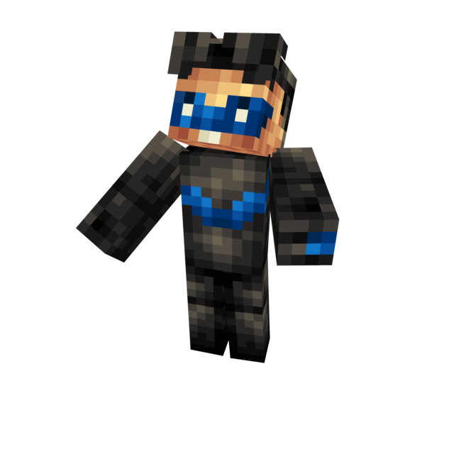 Minecraft nightwing skin png. Richard grayson fydbpng