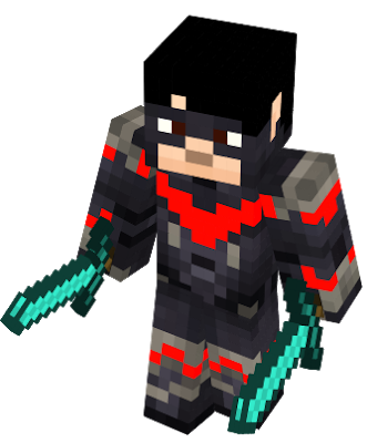 Minecraft nightwing skin png. Nova new