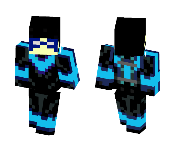 Minecraft nightwing skin png. Download for free superminecraftskins